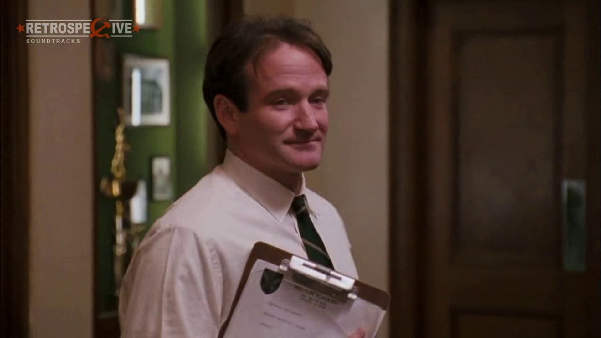 Robin Williams As A John Keating From Dead Poets Society 1989 Video Dailymotion
