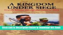 [Download] A Kingdom under Siege: Nepal s Maoist Insurgency, 1996 to 2004 Free Ebook