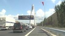Yavuz Sultan Selim Köprüsü Renkli Görüntülere Sahne Oldu - İstanbul