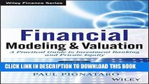 PDF] Financial Modeling and Valuation: A Practical Guide to