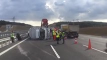 Yavuz Sultan Selim Köprüsü Bağlantı Yolunda Trafik Kazası