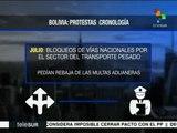Bolivia: cronología de las protestas de las cooperativas mineras