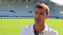 La réaction de Rui Almeida après Red Star - Le Havre 27/08