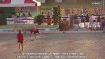 Huitièmes de finales F2, Sport Boules, France Simple, Thonon 2016