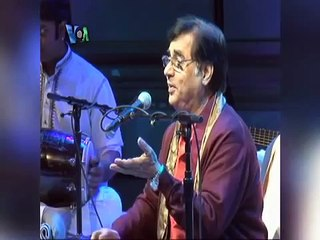 Jagjit Singh.. The Last Interview.. VOA with Madeeha Anwar