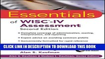 Collection Book Essentials of WISC-IV Assessment
