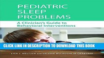 Collection Book Pediatric Sleep Problems: A Clinician s Guide to Behavioral Interventions