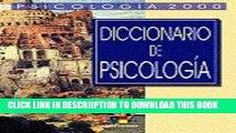 [PDF] Diccionario De Psicologia / Psychology Dictionary (Obras De Psicologia / Psychology Works)