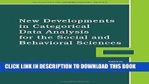 [PDF] New Developments in Categorical Data Analysis for the Social and Behavioral Sciences