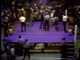 Ric Flair (c) vs Chris Adams NWA World Heavyweight Championship match