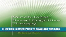 Collection Book Mindfulness-Based Cognitive Therapy: Distinctive Features (CBT Distinctive Features)