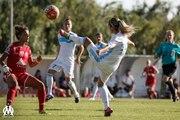 D1 féminine - Nîmes 0-6 OM : le but de Barbara Bouchet (55e)