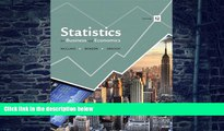 Big Deals  Statistics for Business and Economics (12th Edition)  Free Full Read Most Wanted