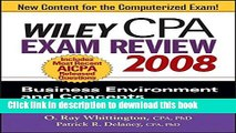 Read Wiley CPA Exam Review 2008: Business Environment and Concepts (Wiley CPA Examination Review: