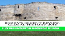 New Book Brodys Regent Review: Global History 2015: Global regents review in less than 100 pages