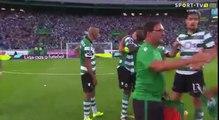 Les dernieres minutes de Slimani avec le Sporting !