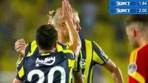 1-1 Simon Kjaer Amazing Free-Kick Goal HD - Fenerbahce 1-1 Kayserispor 28.08.2016 HD