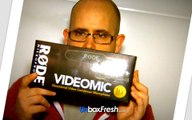 Unboxing - RODE VideoMic Pro Compact Directional On-Camera Microphone - Ideal for Canon 7D gh4
