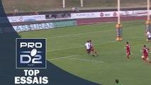 TOP Essais de la J1 – PRO D2 – Saison 2016-2017