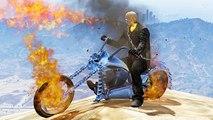 GTA IV Ghost Rider Mod + Hulk Mod - Ghost Rider vs Hulk! YOU GUILTY