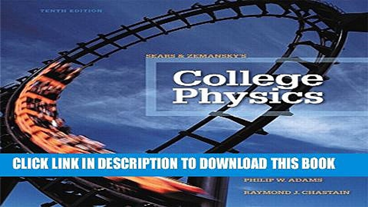 [PDF] College Physics Plus MasteringPhysics with eText -- Access Card  Package (10th Edition) Full