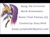[AMV] - EVANESCENCE - My immortal (Final Fantasy VII)