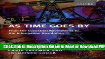 [Get] As Time Goes By: From the Industrial Revolutions to the Information Revolution Popular Online