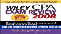 [Reads] Wiley CPA Exam Review 2008: Business Environment and Concepts (Wiley CPA Examination