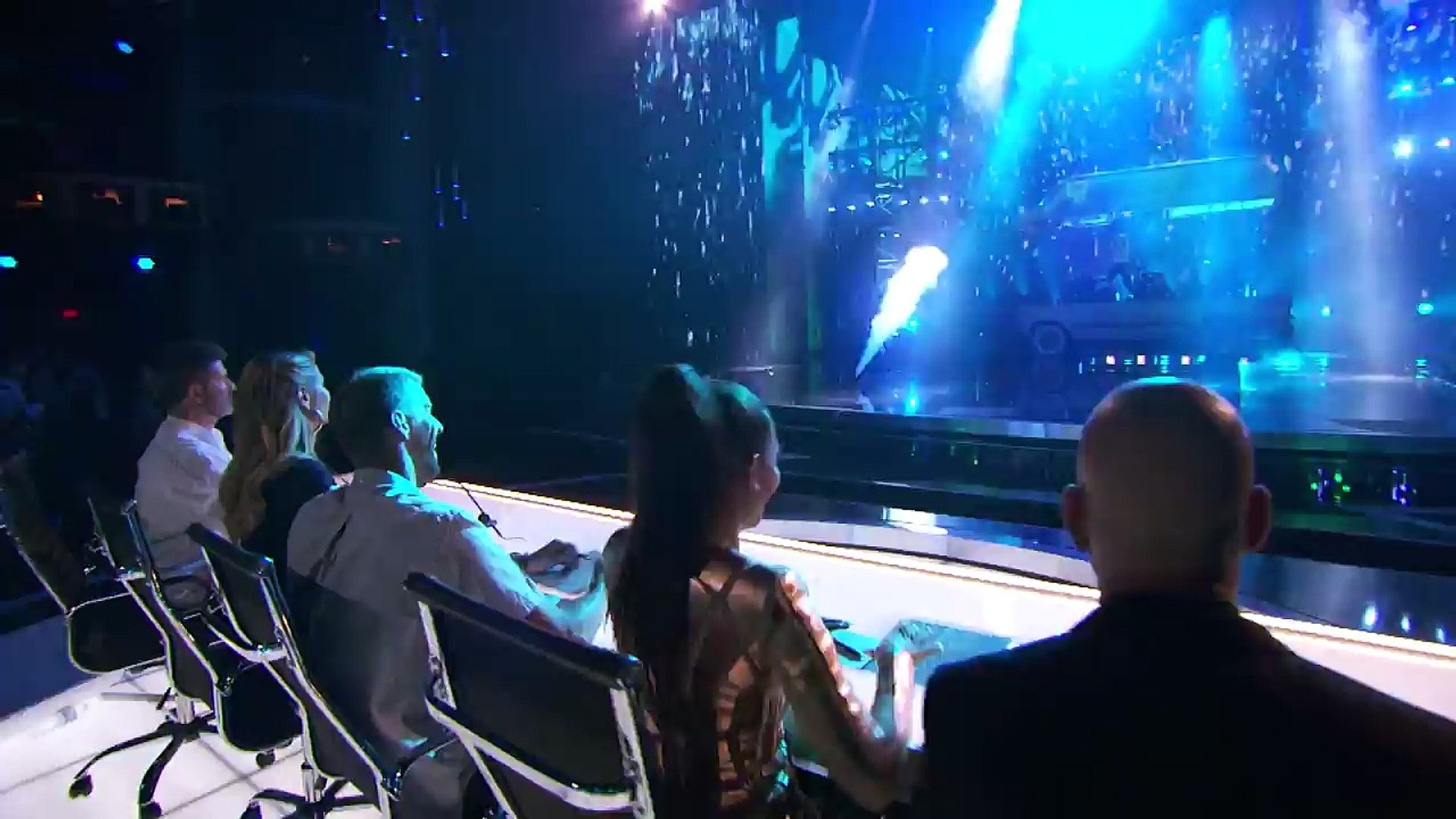 Recycled Percussion Noisy Trash Bangers Return to AGT Stage America's Got Talent 2016
