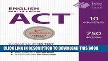 New Book ACT English Practice Book (Advanced Practice Series) (Volume 7)