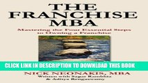 [Download] The Franchise MBA: Mastering the 4 Essential Steps to Owning a Franchise Hardcover