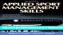 [Get] Applied Sport Management Skills-2nd Edition With Web Study Guide Free Online