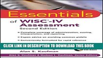 New Book Essentials of WISC-IV Assessment