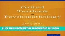 New Book Oxford Textbook of Psychopathology (Oxford Textbooks in Clinical Psychology)