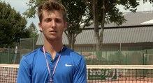 Championnats de France 2016, 17-18 ans : Corentin Moutet passe la cinquième