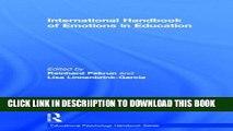 [PDF] International Handbook of Emotions in Education (Educational Psychology Handbook) Popular