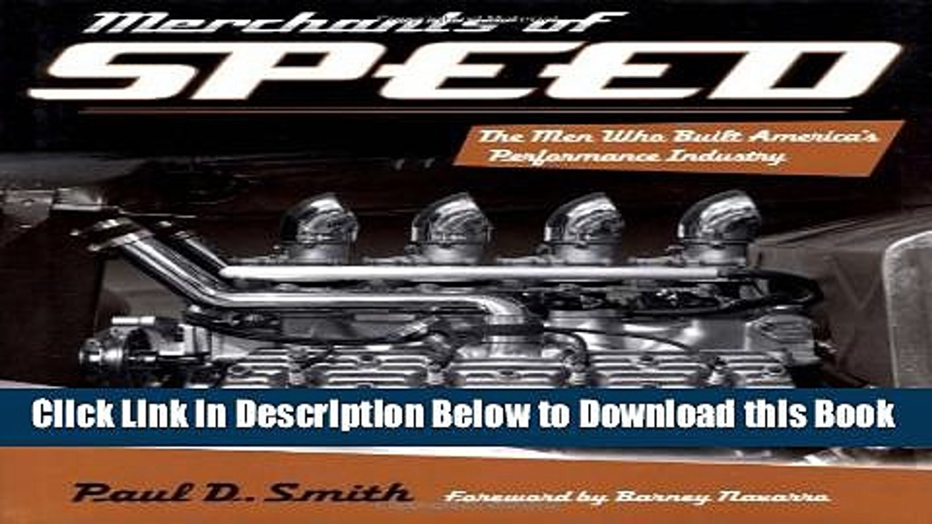 [Reads] Merchants of Speed: The Men Who Built America s Performance Industry Online Ebook