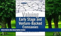 Big Deals  Valuing Early Stage and Venture Backed Companies  Free Full Read Best Seller