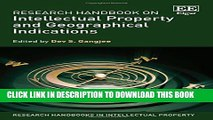 [PDF] Research Handbook on Intellectual Property and Geographical Indications (Research Handbooks