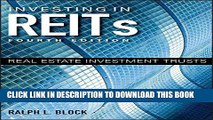 [PDF] Investing in REITs: Real Estate Investment Trusts (Bloomberg) Full Colection