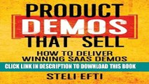 Collection Book Product Demos That Sell: How to Deliver Winning SaaS Demos