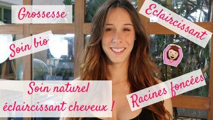 Enceinte ♡ Soin naturel éclaircissant pour les cheveux pendant la grossesse