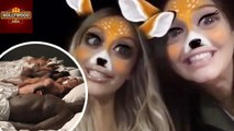 Kim Kardashian & Kendall Jenner Snapchat Video | Hollywood Asia