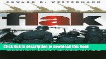 Read Flak: German Anti-Aircraft Defenses, 1914-1945 (Modern War Studies)  PDF Free