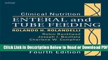 [Get] Clinical Nutrition: Enteral and Tube Feeding, Text with CD-ROM, 4e Free Online