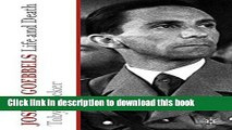 Read Joseph Goebbels: Life and Death  Ebook Free