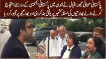 Strong Reply of Pakistani Journalist to Indian protesters on Kashmir Issue