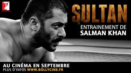 Entrainement de Salman KHAN pour #SULTAN - Au cinéma en septembre
