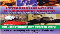 [PDF] Psychological Effects of Catastrophic Disasters: Group Approaches to Treatment Ebook Online