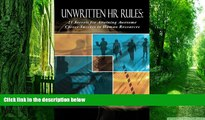 Big Deals  Unwritten HR Rules: 21 Secrets For Attaining Awesome Career Success In Human Resources